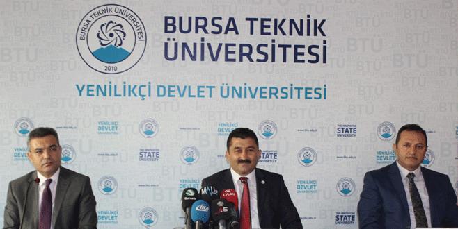 Bursa Teknik Üniversitesi Rektörü'nden FETÖ açıklaması!