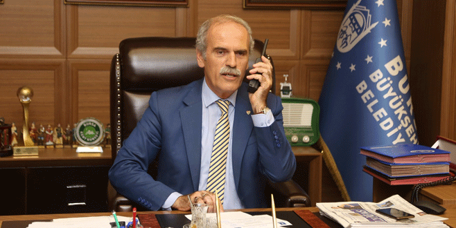 Başkan Altepe'den zabıtaya 'telsizli' kutlama