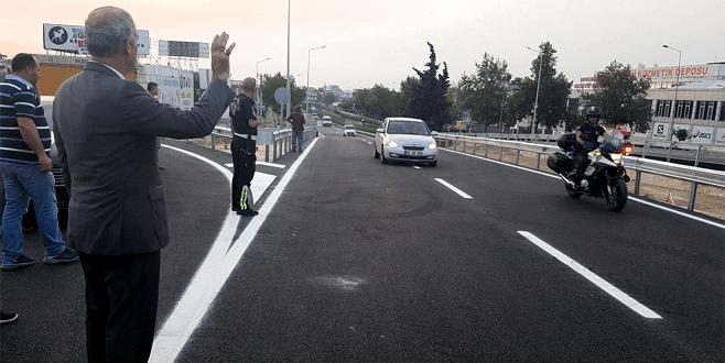 Mudanya kavşağında bütün güzergahlar trafiğe açıldı