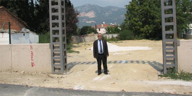 Adaköy mezarlığı  genişletiliyor
