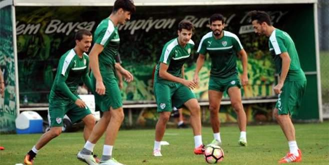 Bursaspor'da Fenerbahçe provası