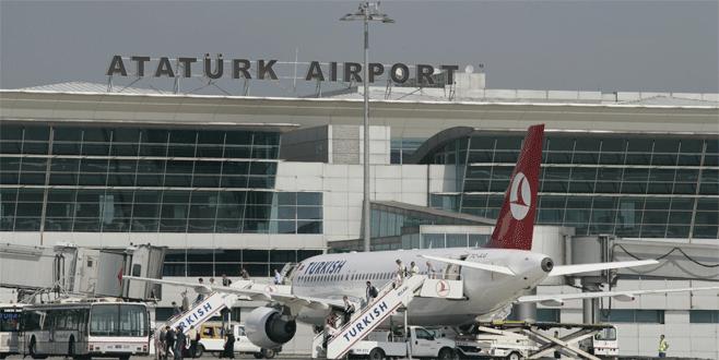 Atatürk Havalimanı'ndan dakikada bir sefer