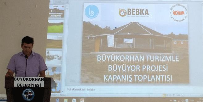 Büyükorhan'da  tanıtım atağı