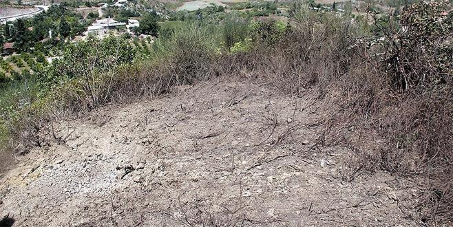 Yayladağı kırsalına top mermisi düştü
