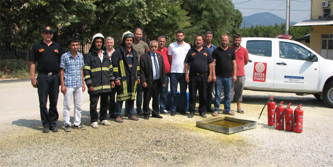Adaköy'e gönüllü itfaiye ekibi kuruldu