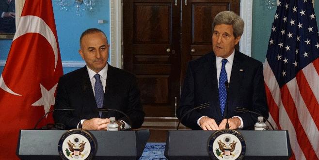 Çavuşoğlu ve Kerry'den kritik görüşme