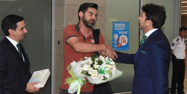 Shakhtar'a Konya'da çiçek sürprizi