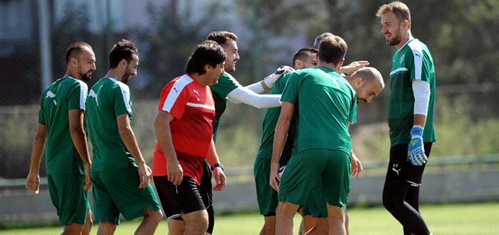 Bursaspor, Kayserispor maçına hazır