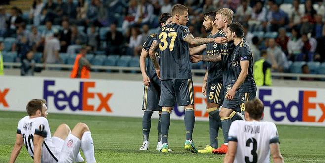 Fenerbahçe puanı son dakikada kaptı: 1-1