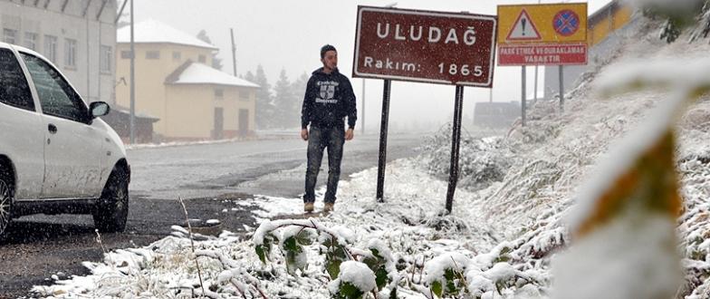 Marmara`da ilk kar yarın Bursa`ya düşebilir