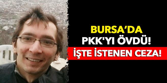 Twitter paylaşımında PKK'yı övdü, 10 yıl hapsi isteniyor