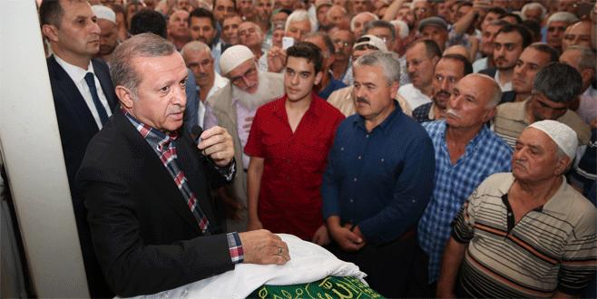 Erdoğan: Adeta annem gibi sevdiğim, saygı duyduğum birisiydi