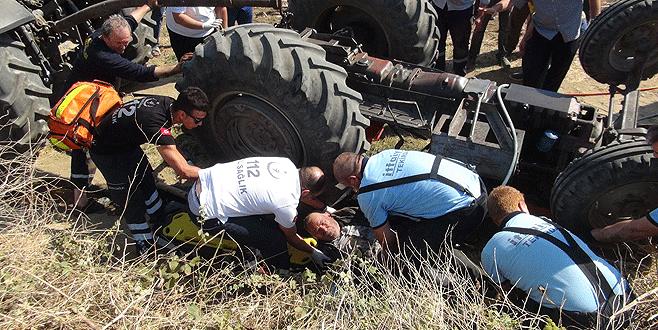 Kaza yapan sürücü 4 saat sonra fark edildi