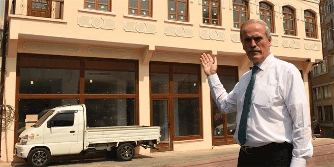 Büyükşehir'den bir restorasyon da Kayhan'a