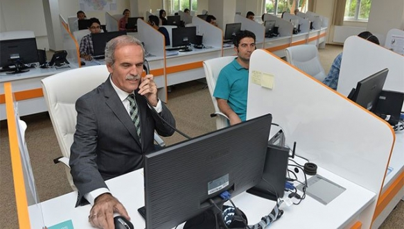 BUSKİ'ye modern çağrı merkezi