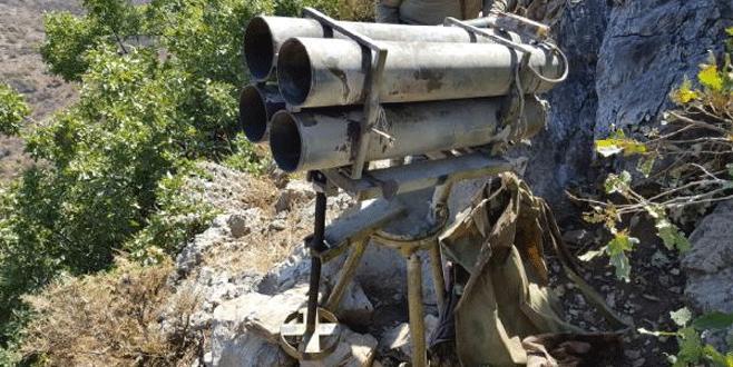 Çukurca'da teröristlere ait ÇNRA ele geçirildi