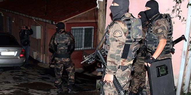23 adrese eş zamanlı DAİŞ operasyonu: 40 gözaltı