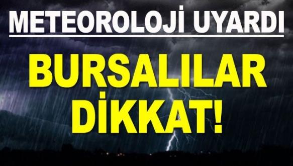 Bursa Valiliği`nden fırtına uyarısı!