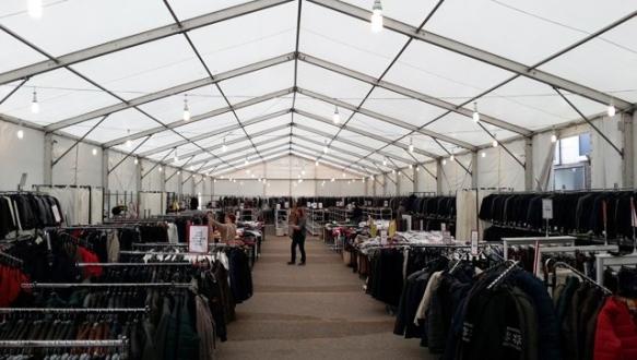 Marka indirim çadırı Bursa`da açılıyor