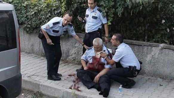 Ankara`da silahlı çatışma: 3`ü polis, 4 yaralı
