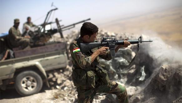Kürtler IŞİD`i durdurdu