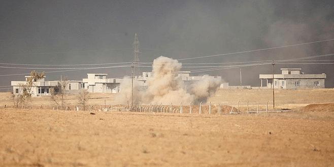 Türk askerinden DEAŞ'a karşı Peşmerge'ye destek