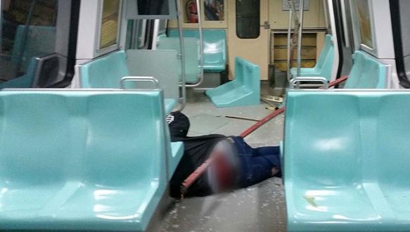İstanbul metrosunda korkunç kaza