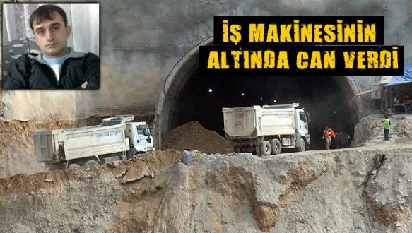 YHT tünel inşaatında korkunç kaza