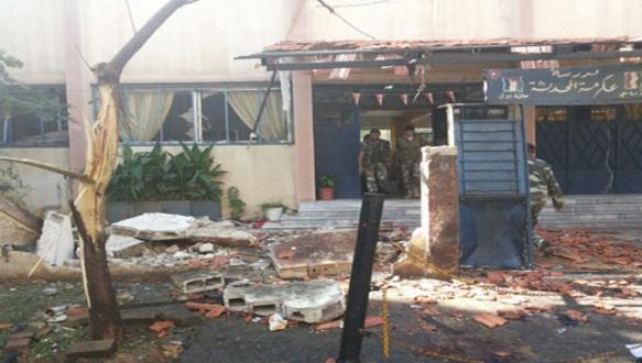 Okula bombalı saldırı