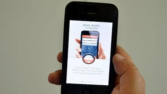 Kaza tespit tutanağında 'mobil uygulama dönemi'