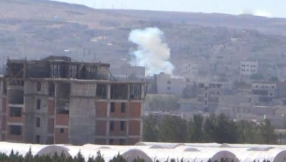Kobani'de çatışmalar şiddetlendi!