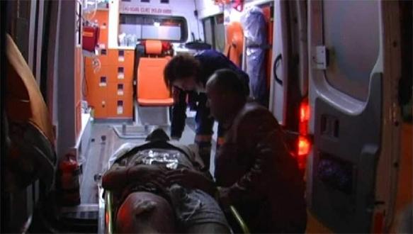 Bursa'da Kobani protestosunda bir genç silahla vuruldu