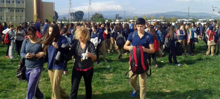Bursa'da okulda büyük panik