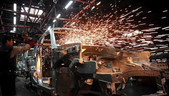 Sanayi üretimi 7 ayın zirvesinde