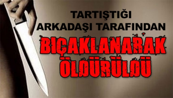 Bursa'da arkadaşların sohbeti kanlı bitti!