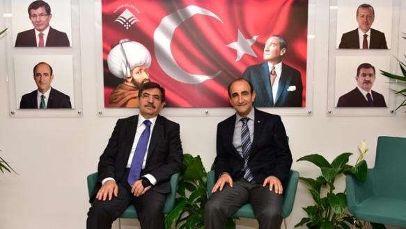 Bakan Güllüce`ye destek teşekkürü
