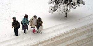 Bursa'da 4 ilçede eğitime kar engeli