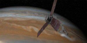 Juno, Jüpiter'deki 'sır' için uçtu