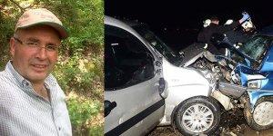 Bursa'daki kazada ağır yaralanan sürücü kurtarılamadı