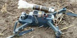 PKK'nın bomba yüklü 'drone'u ele geçirildi