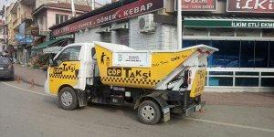 Çöp sorununa Çöp Taksi ile çözüm