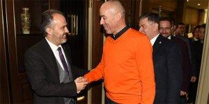 Başkan Aktaş`tan Bursaspor`a destek