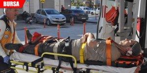Üzerlerine sunta düşen 2 işçi yaralandı