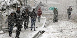 Meteoroloji'den Marmara Bölgesi için kar uyarısı