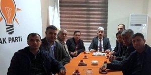 Servisçilerden Adnan Kamıl'a ziyaret