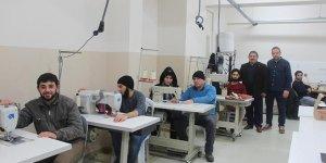 Suriyeli gençler meslek sahibi oluyor