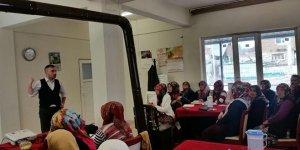 Büyükorhan'da besi sığırcılığı kursu