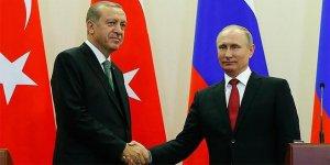 Erdoğan ile Putin ile telefonda görüştü