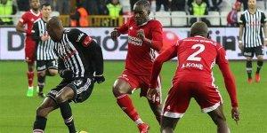 Beşiktaş Sivas'ta kayıp