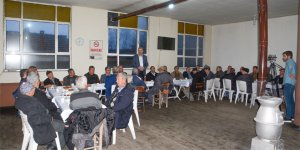 Halil İbrahim Sofrası'nda vatandaşları dinledi